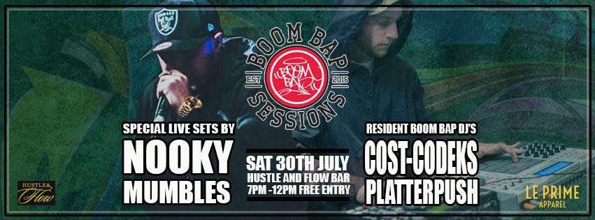 NOOKY @ Hustle and Flow Bar, Redfern
