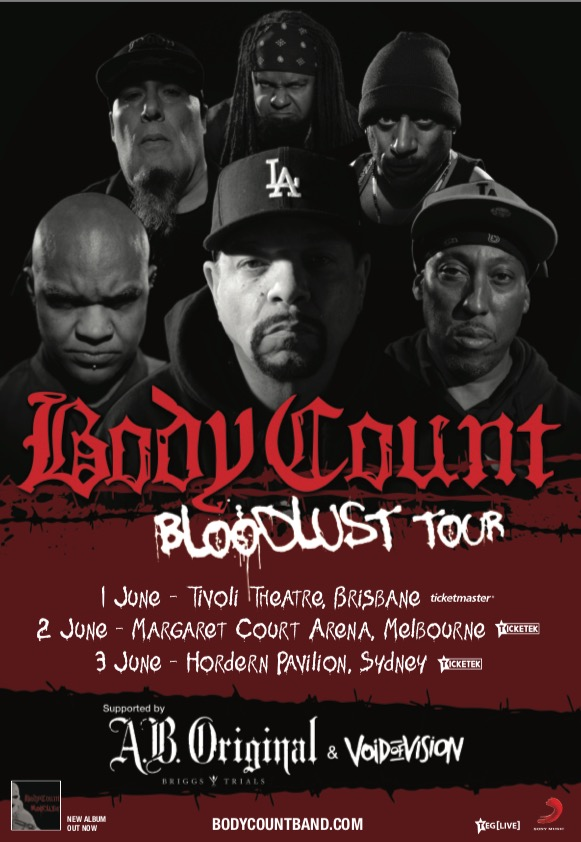 A.B. ORIGINAL SUPPORTING BODY COUNT