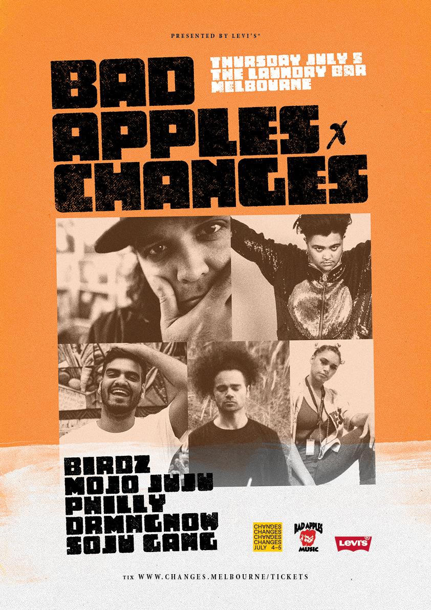 BAD APPLES MUSIC SHOWCASE @ CHANGES SUMMIT, MELBOURNE