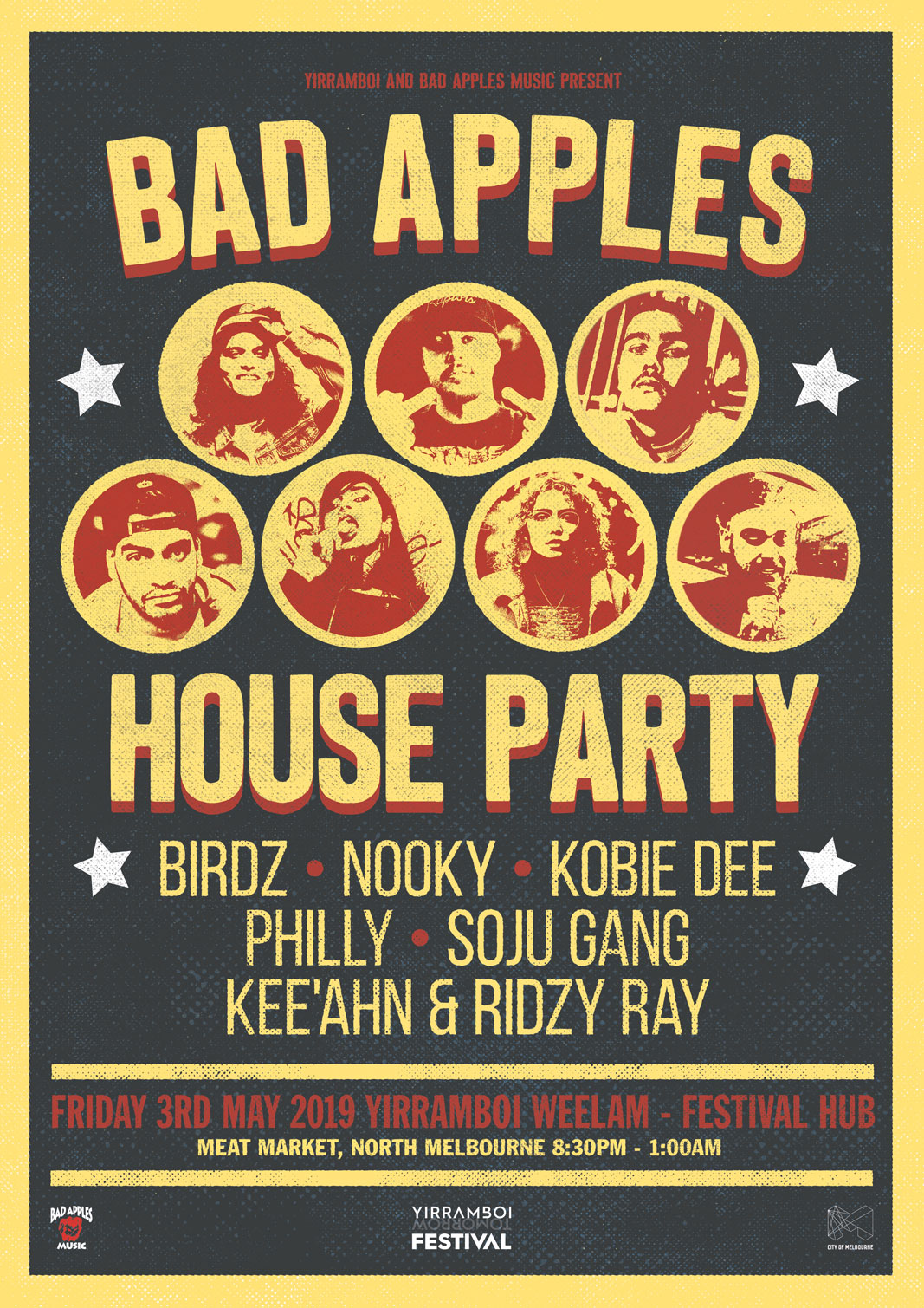 BAD APPLES HOUSE PARTY @ YIRRAMBOI FESTIVAL