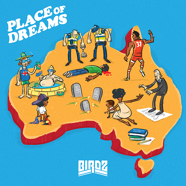 BIRDZ SHARES HIS HIGHLY ANTICIPATED  PLACE OF DREAMS EP