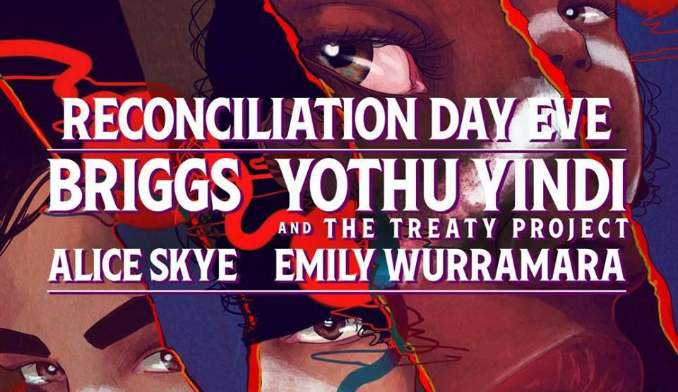 BRIGGS @ RECONCILIATION DAY EVE