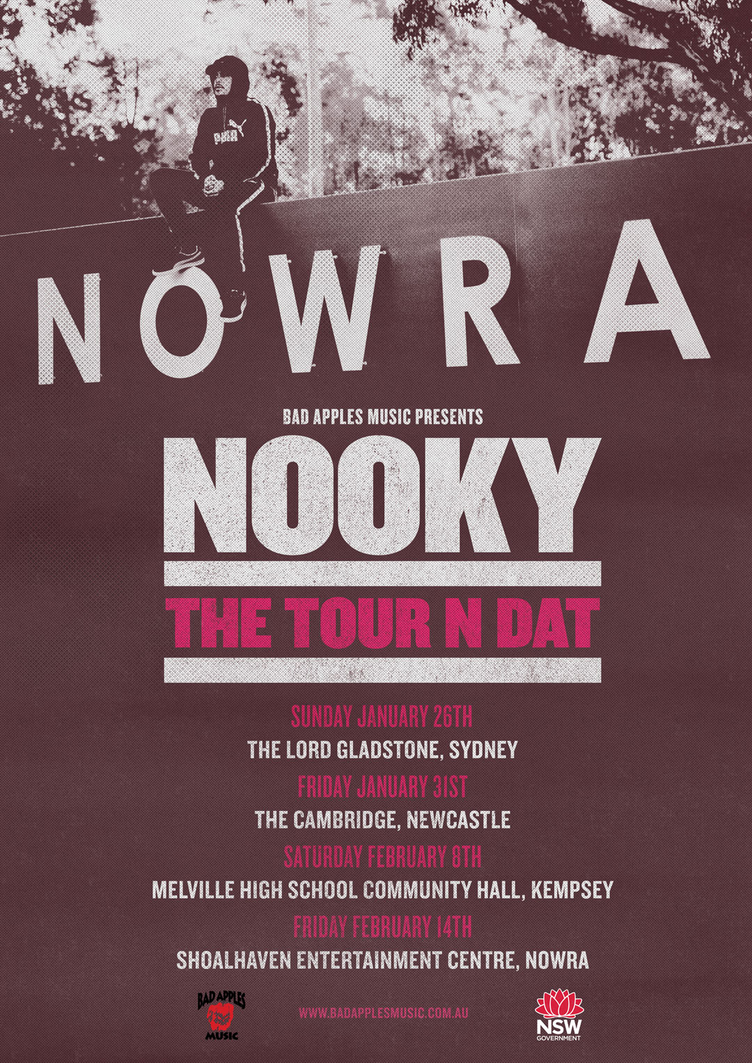 NOOKY – THE TOUR N DAT TOUR