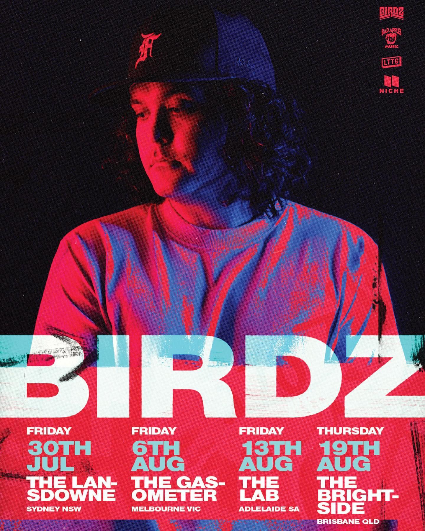 BIRDZ NATIONAL TOUR